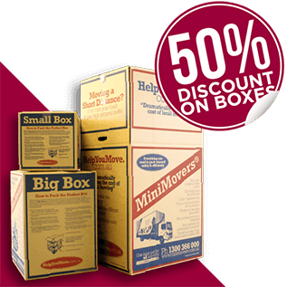 50% discount on all boxes